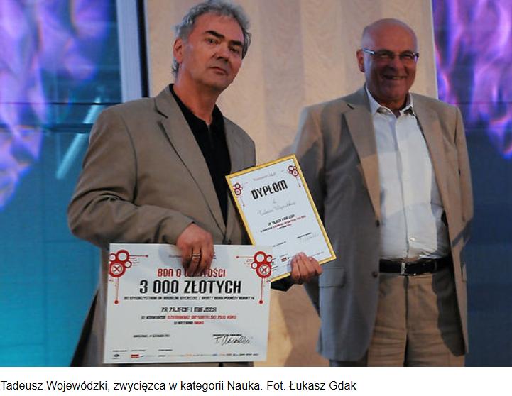 Dziennikarz Obywatelski 2010 - I nagroda w Kategorii NAUKA