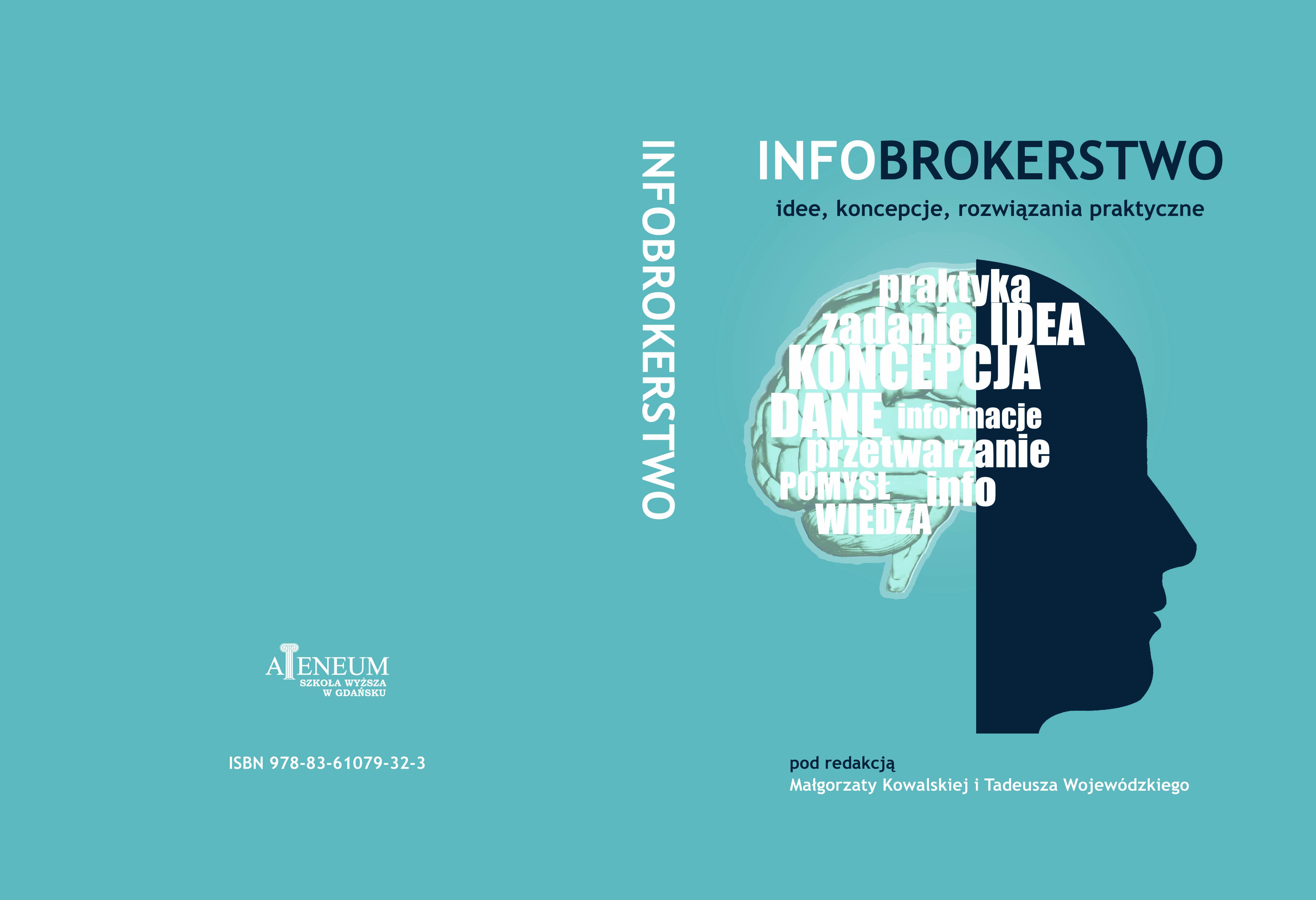 Pierwsza w Polsce publikacja książkowa o infobrokerstwie